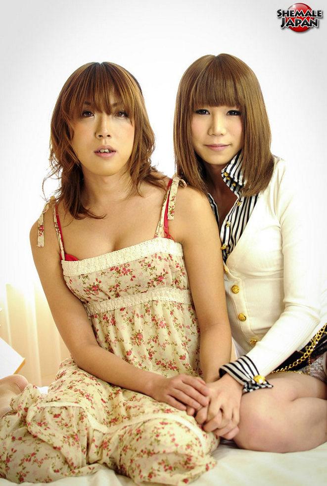 Japanese Tgirls Ran Mizumoto & Koyuki Kase