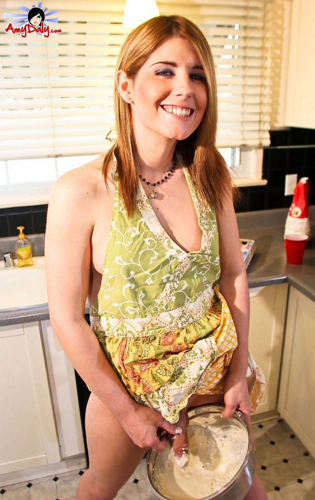 Ladyboy Amy Daly - Cooking