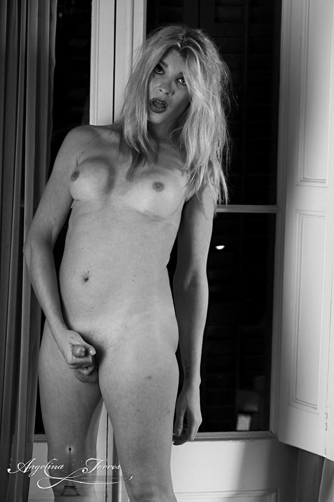Ladyboy Angelina Torres - Smoke
