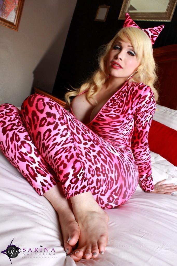 Ladyboy Sarina Valentina - Pink Pussycat