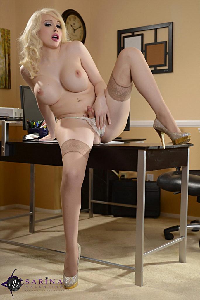 Ladyboy Sarina Valentina - The Office Secretary