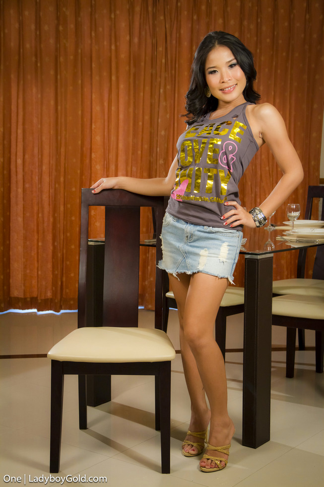 Pattaya Shemale One - One Horny For Penis