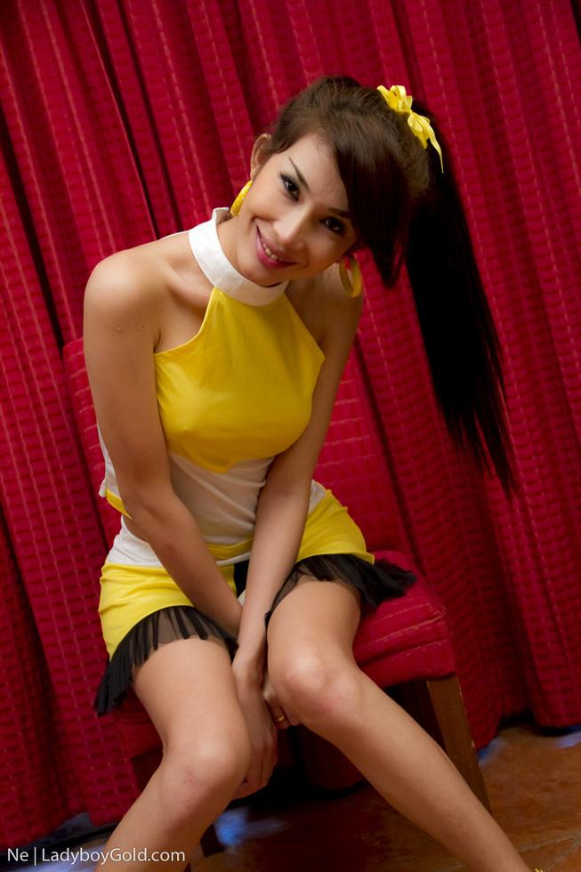 Pattaya T-Girl Ne - Ne Cheerleader Babe