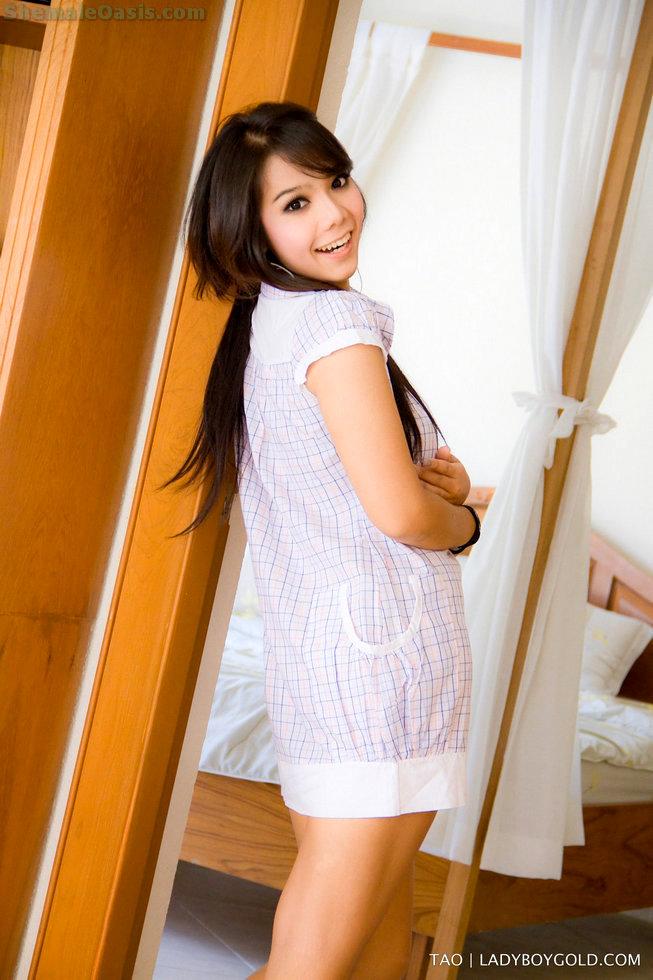 Pattaya T-Girl Tao - Tao Alt Teen