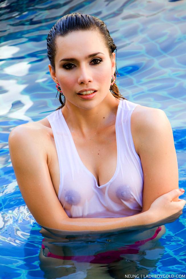 Pattaya Tgirl Nueng - Nueng Wet T Shirt