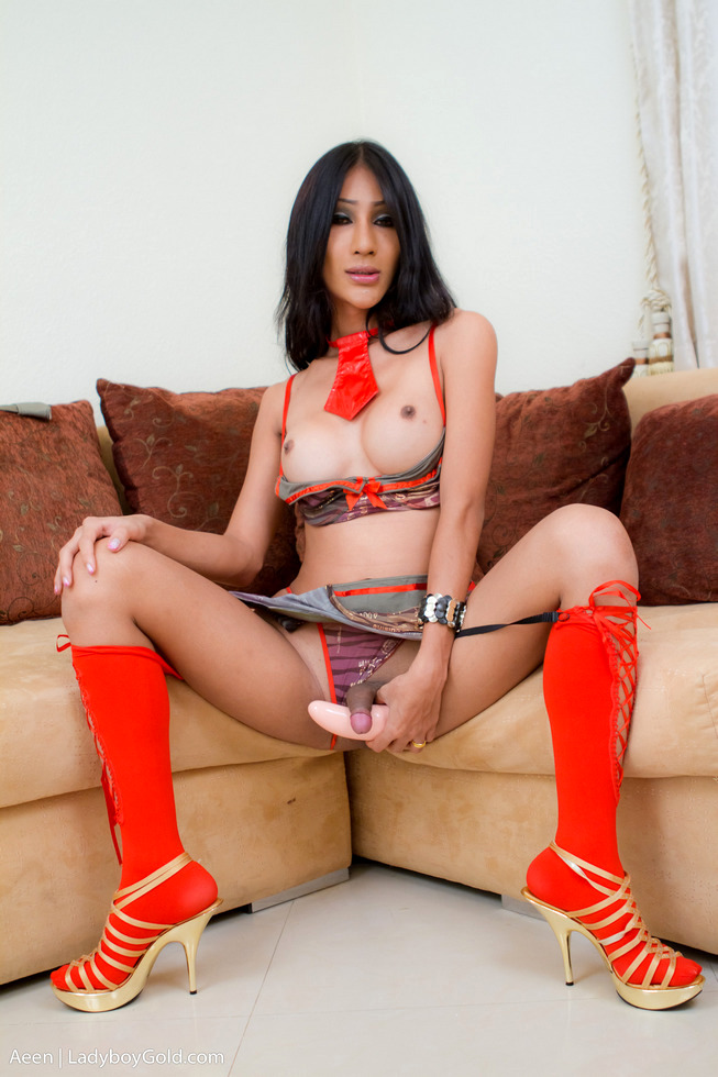 Pattaya Transexual Aeen - Aeen Army Asshole Play