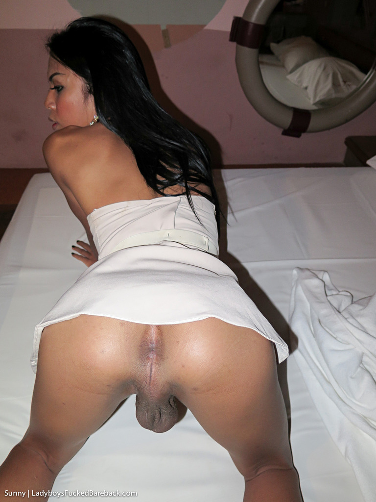 Pattaya Transexual Sunny Bare Back - Girlfriend Dress Creampie