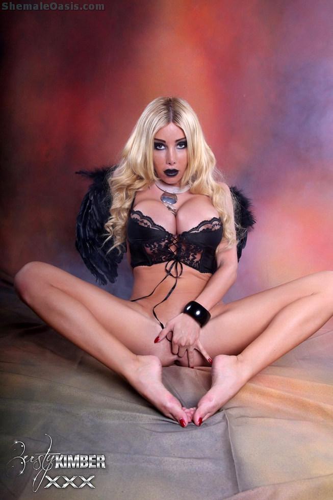 Post Op Ladyboy Kimber - Dark Angel