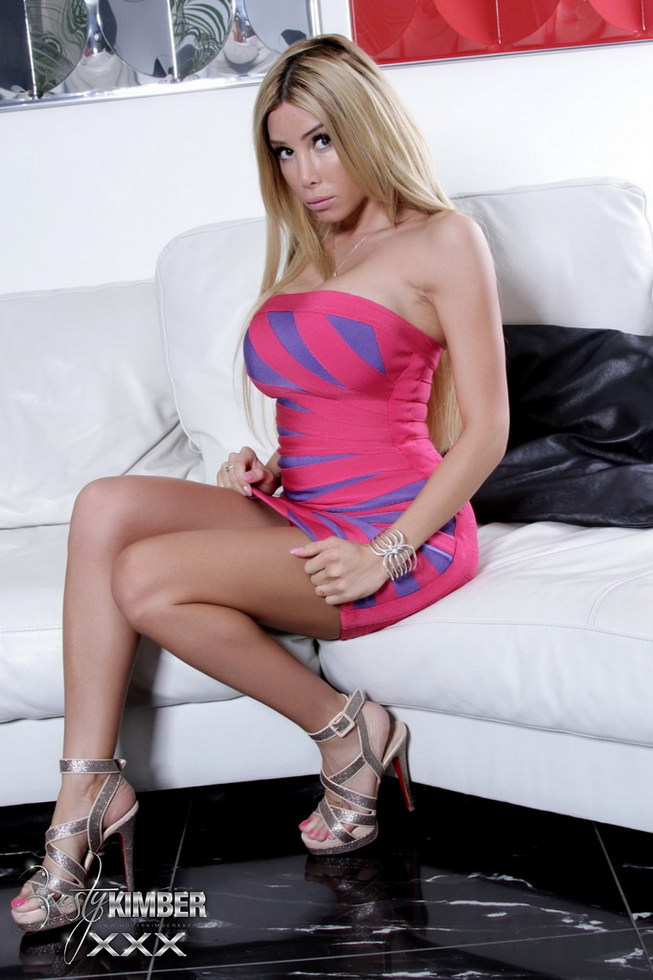 Post Op Tgirl Kimber - Lets Do It Here Baby