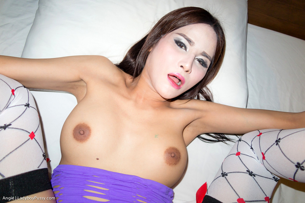 Post Op Transexual Angie - Angie Slutty Dress No Condom