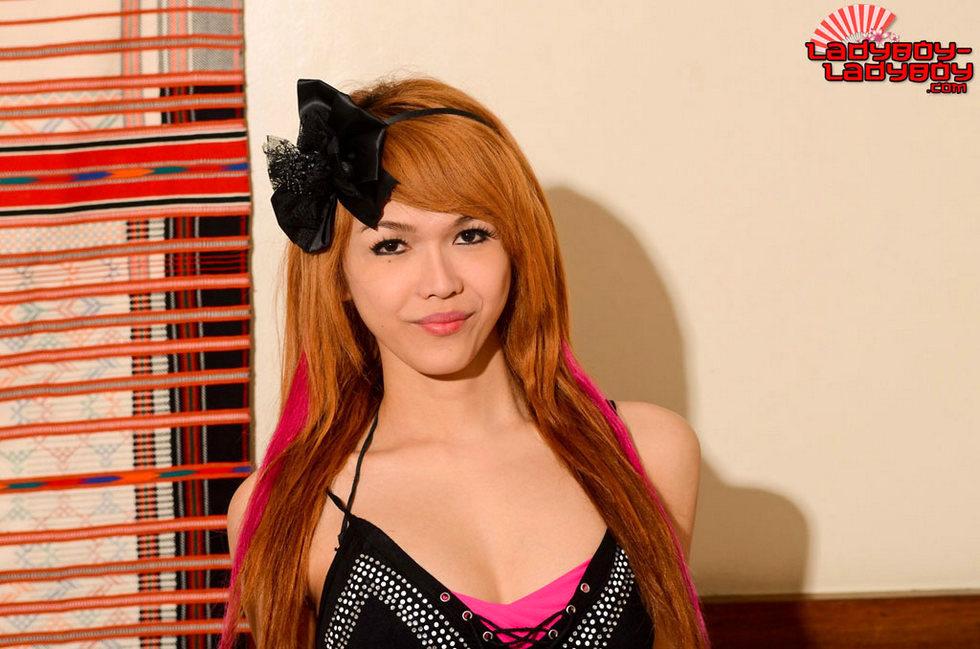 Redhead Tgirl