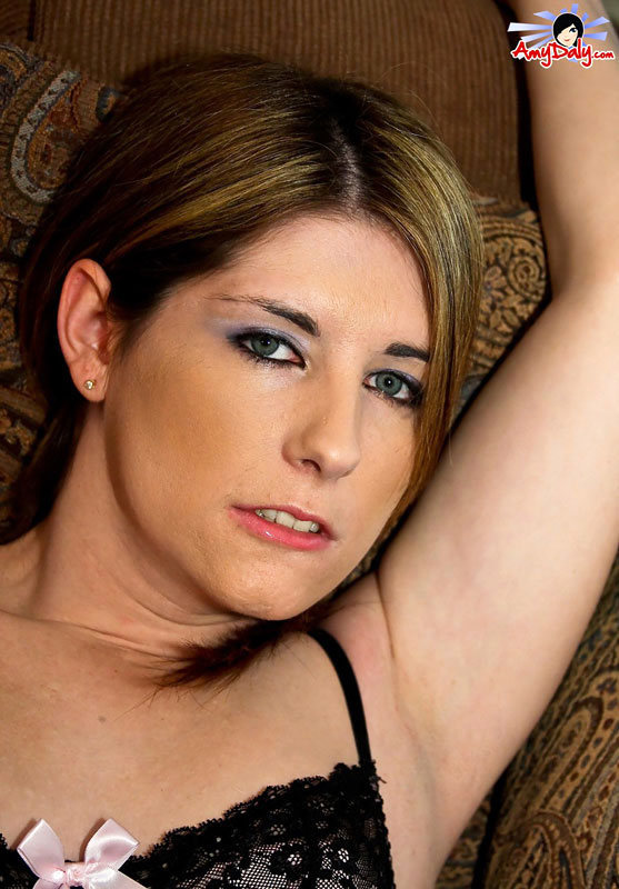 T-Girl Amy Daly - Lingerie N Stockings