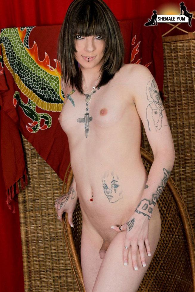 T-Girl Chelsea Marie - Chelsea Marie Tattooed Babe