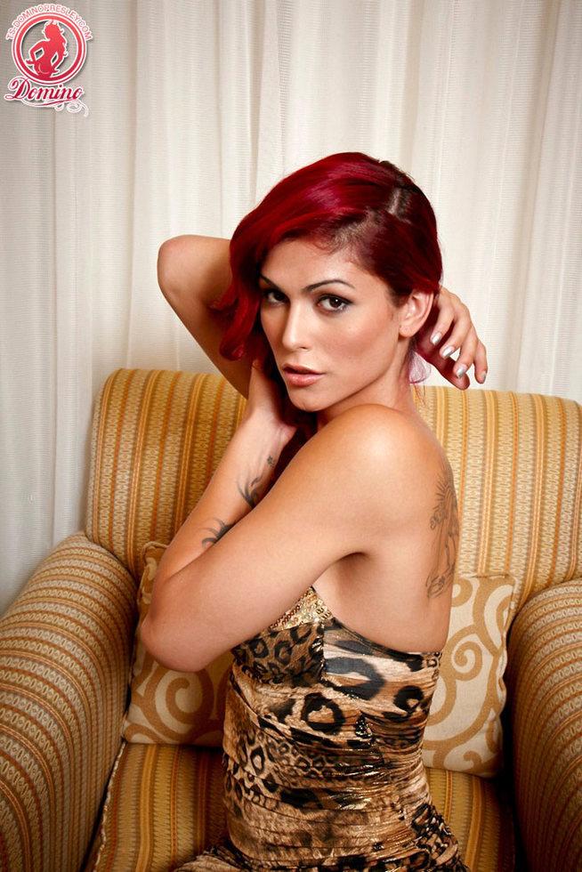 T-Girl Domino Presley - Leopard Love