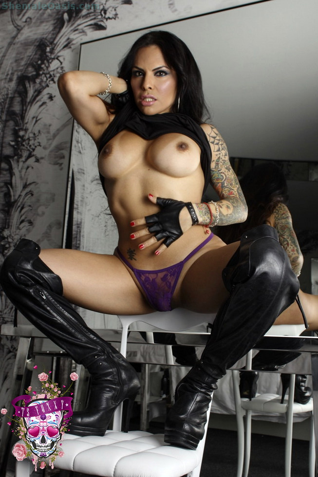 T-Girl Foxxy - Leather
