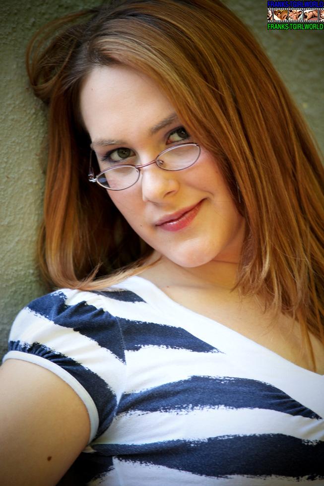 T-Girl Hazel Tucker - Hazel Tucker In Glasses