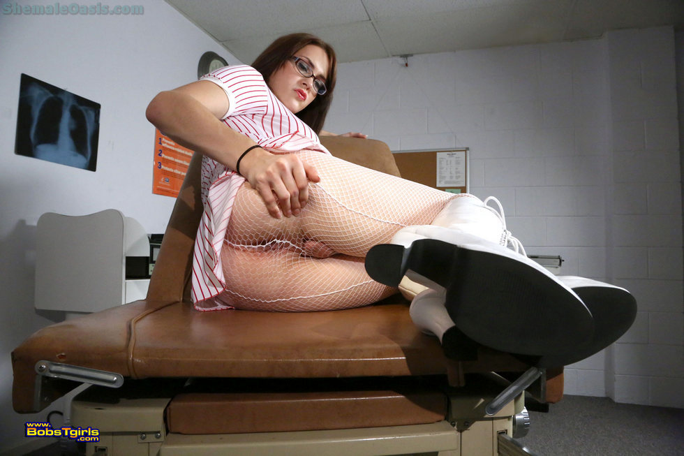 T-Girl Hazel Tucker - Hazel Tucker Nurse Hazel