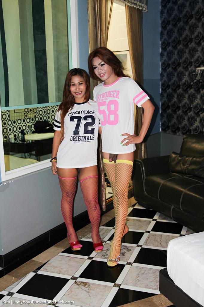 T-Girl Kita Barebacks A Teen Girl