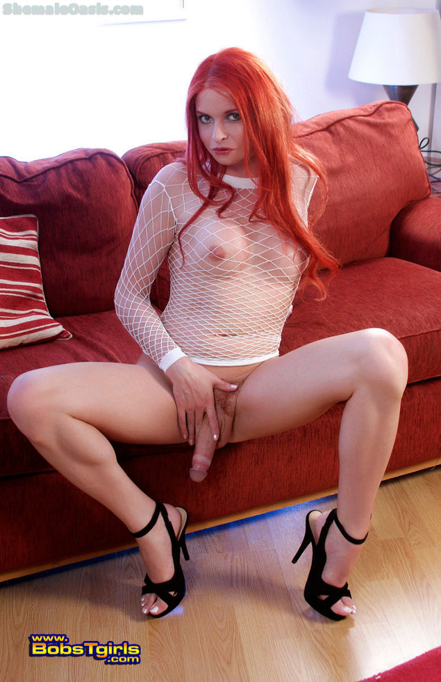 T-Girl Liberty Harkness - Liberty Harkness Flaming Red