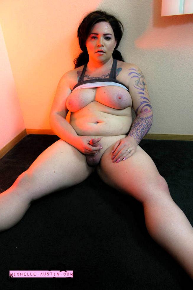 T-Girl Michelle Austin - Workout