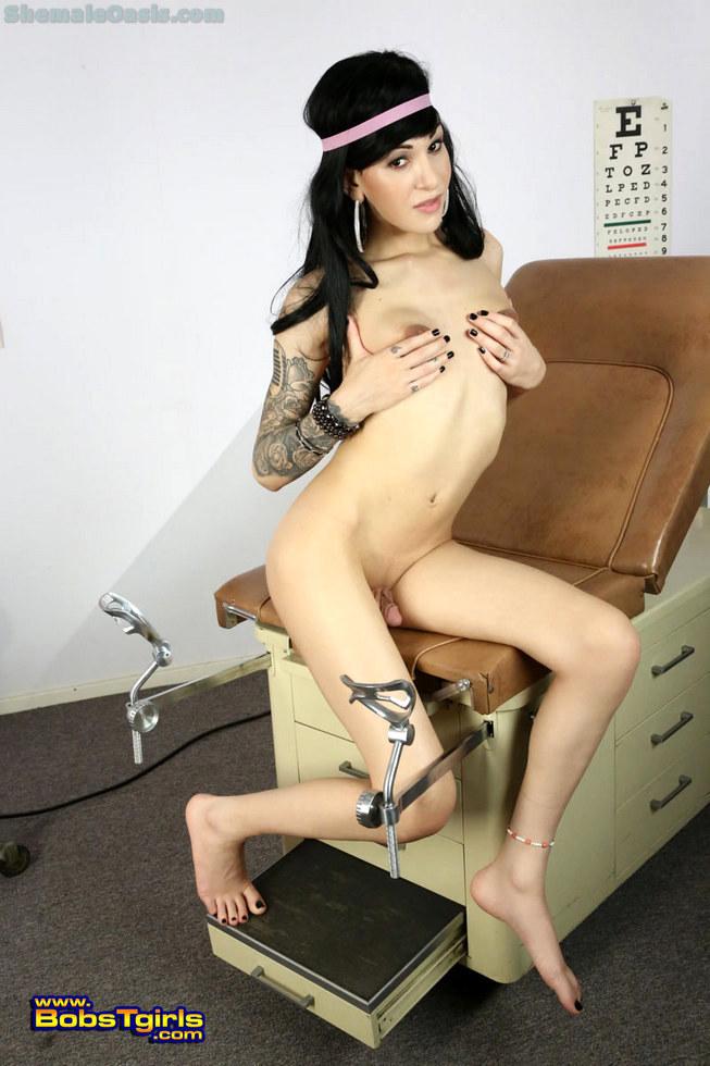 T-Girl Ryder Monroe - Ryder Monroe Office Visit