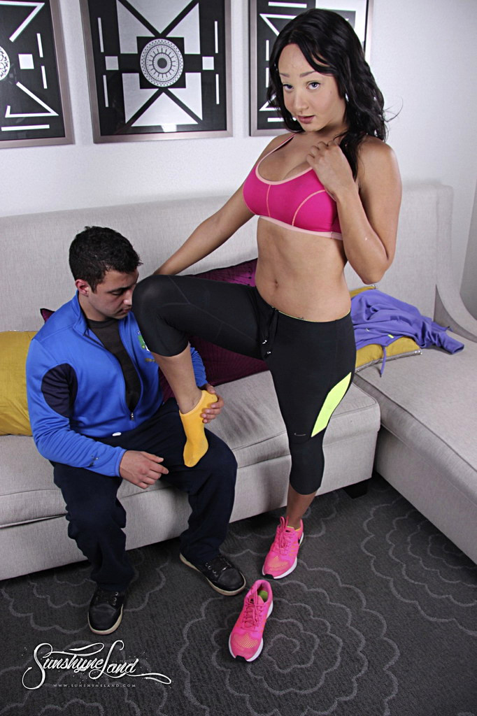 T-Girl Sunshyne Monroe - After Workout Pic Tfg