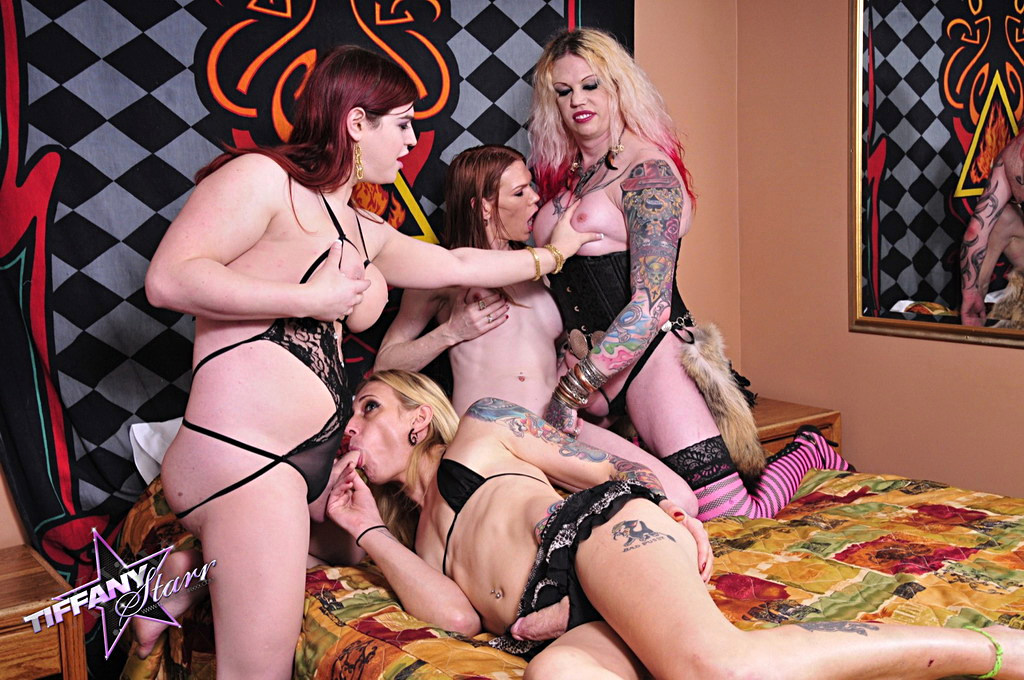 T-Girl Tiffany Starr & Friends