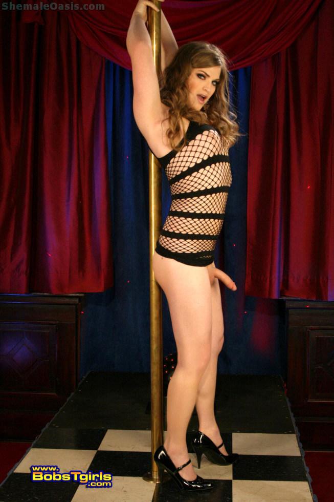 T-Girl Tiffany Starr - Tiffany Starr Stripper
