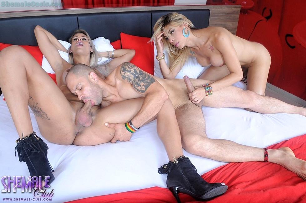 Tgirl 3some - Rafaela Sabrina And Toni Pic Tfd Tfg
