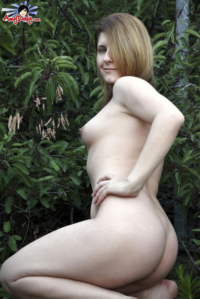 Tgirl Amy Daly - Garden