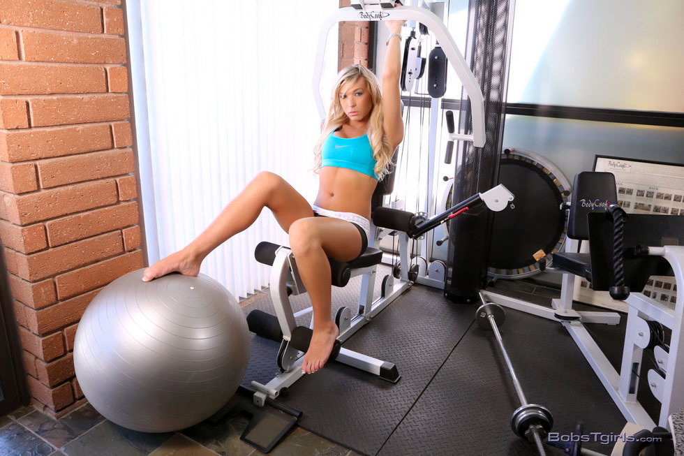 Tgirl Aubrey Kate - Aubrey Kate Workout Anyone