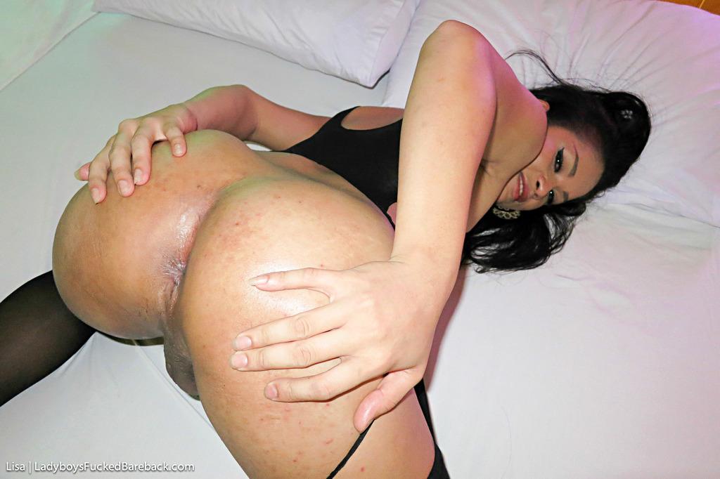 Tgirl Lisa Bare Back