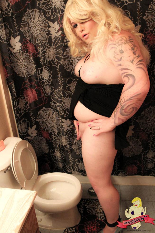 Tgirl Michelle Austin - Bath