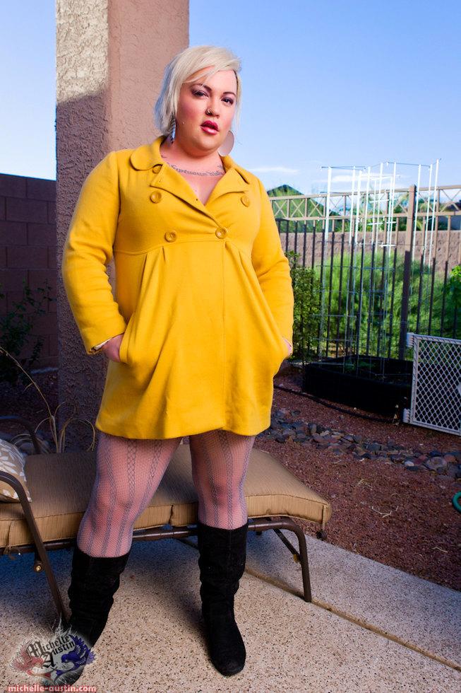 Tgirl Michelle Austin - Yellow Jacket