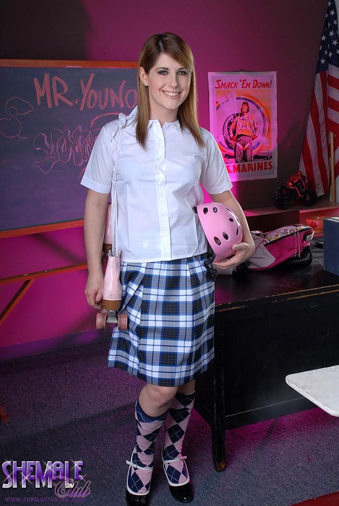 Tgirl Schoolgirl Amy Daly! - Amy Daly