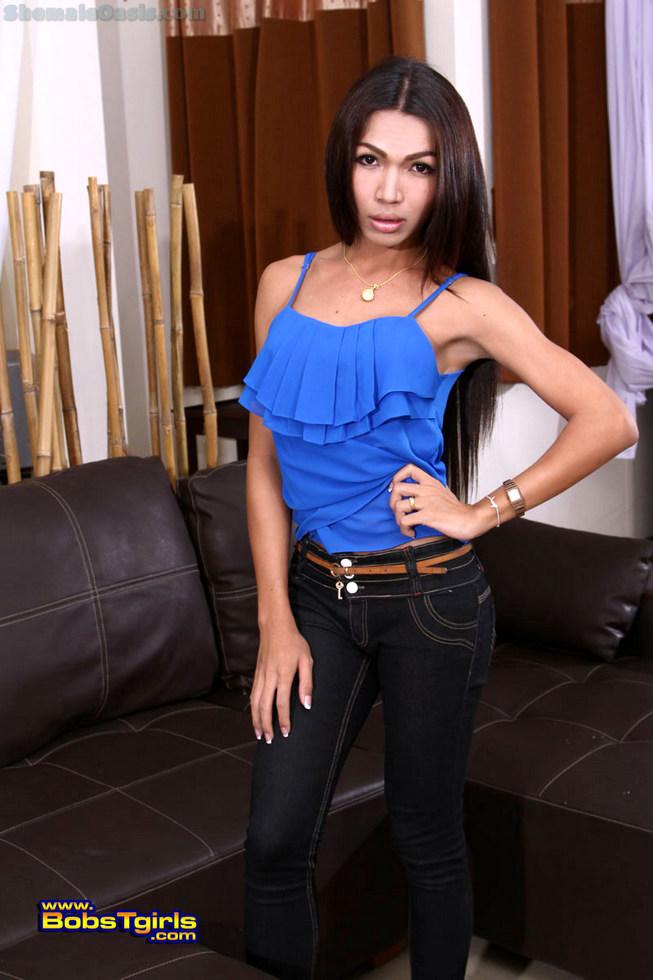 Thai Tgirl Nanny - Nanny Blue