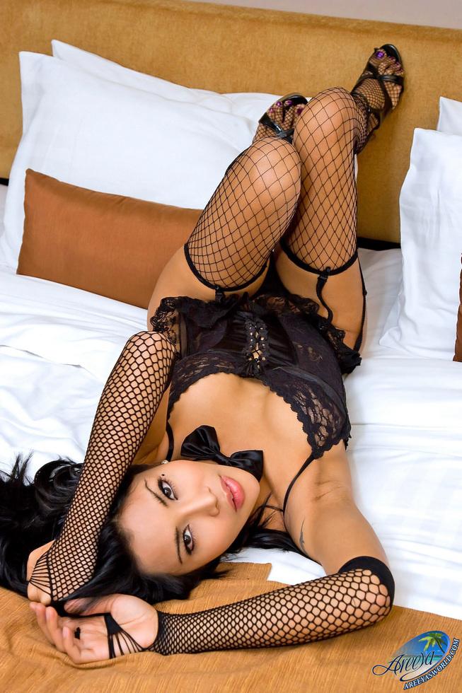 Thailand Transexual Areeya - Black Lace Mbfma