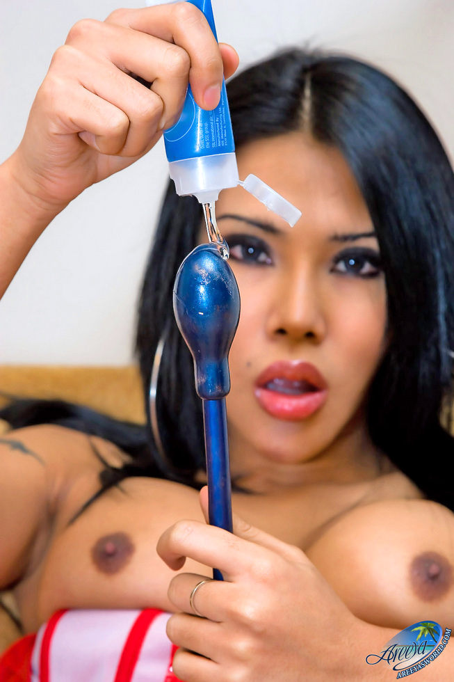 Thailand Transexual Areeya - Boots Rubber Toy Tcwvb