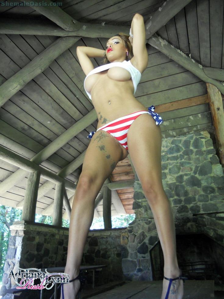 Transexual Adriana Lynn Rush - American Woman