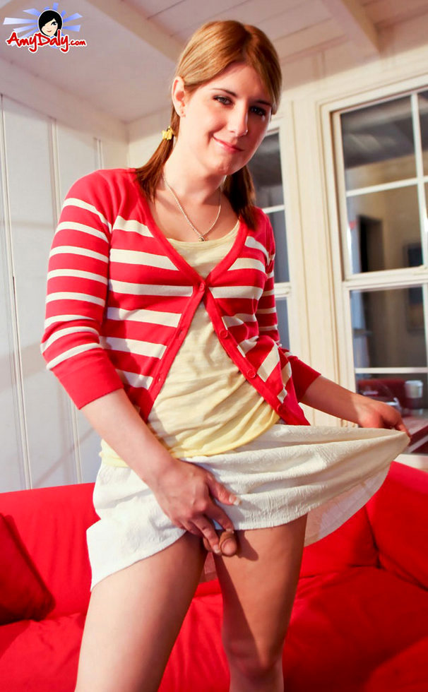 Transexual Amy Daly - Babysitting Job