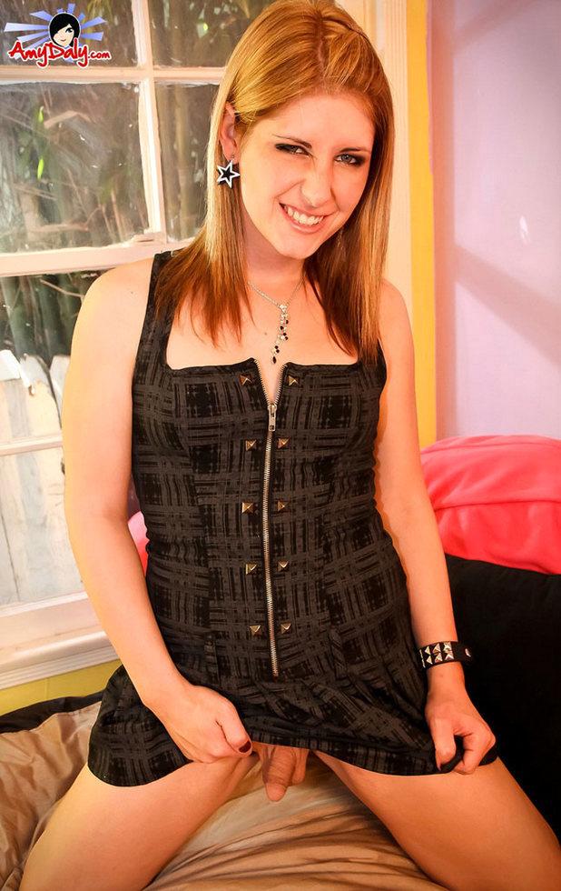 Transexual Amy Daly - Im Redhead