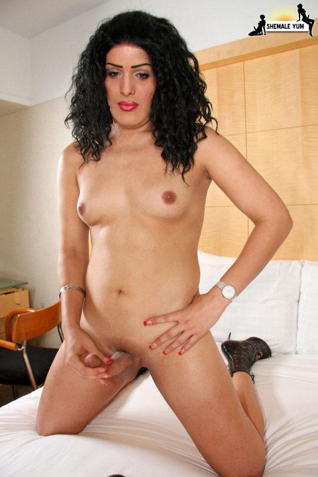 Transexual Ashley - Ashley Puerto Rikan Stroker