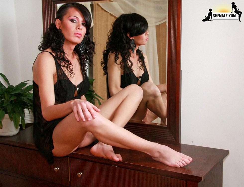 Transexual Christina Delavega