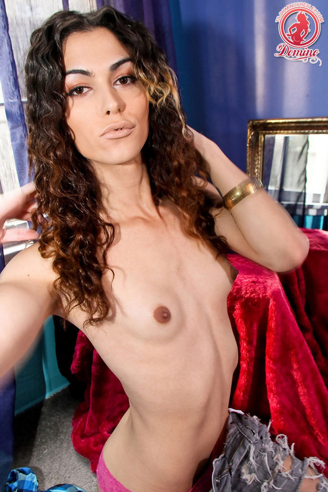 Transexual Domino Presley - Lounging Around