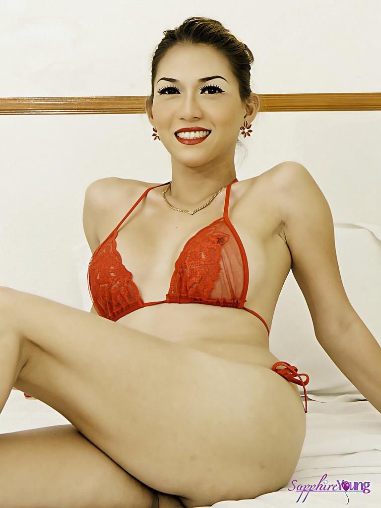 Transexual Sapphire Young - Redbikini Ac